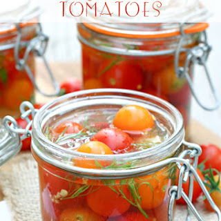 Easy Pickled Tomatoes