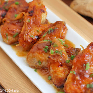 Sticky Ginger Chicken Wings