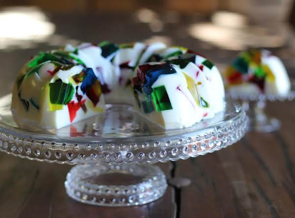 Stained Glass Jello Bundt