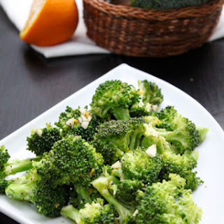 Orange Broccoli - 2 Minutes Microwave