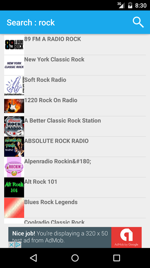 RadIO Nomy- screenshot