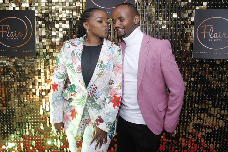 Celebrity couple Milly wa Jesus and Kabi wa Jesus