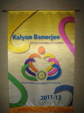 "Photo: 2011-2012 Rotary International Theme ""Reach within to Embrace Humanity"""