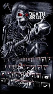 Devil Death Skull Keyboard Theme