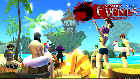 Game AdventureQuest 3D MMO RPG APK for Windows Phone