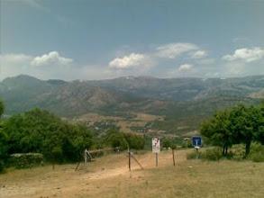 Photo: 100km24h: La Maliciosa, La bola del mundo, la Cuerda Larga, el Yelmo. La postal mas bonita de la ruta. Hot is great!