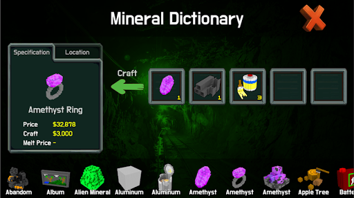 City miner: Mineral war Hack for the game