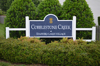 Photo: Cobblestone Creek neighborhood at Stafford Lakes Village. The Stafford Lakes Village Homeowners Association is at 65 Village Parkway Fredericksburg Virginia 22406 in Stafford County  Related link: Stafford Lakes Homeowners Association http://www.staffordlakescommunity.com  Courtesy of Dwayne & Maryanne Moyers, Realtors in Stafford County, Fredericksburg, and Spotsylvania County. Visit us at www.TheMoyersTeam.com