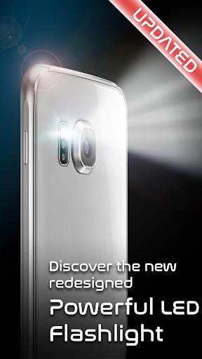 Powerful Flashlight HD with FX 3.3.0 screenshots 1