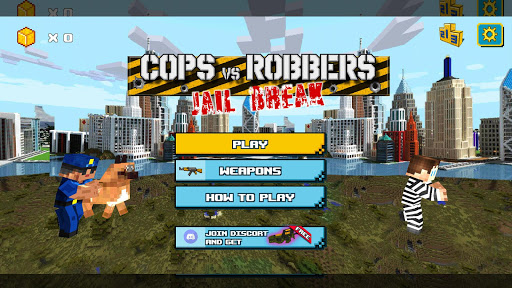 Cops Vs Robbers: Jailbreak apktram screenshots 1