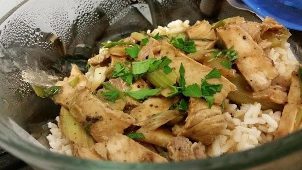 Celery Chicken Recipe