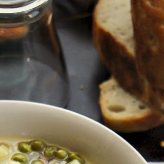 Chicken and Pea Soup