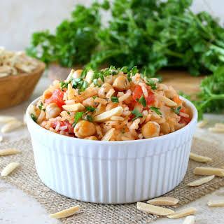 Mediterranean Rice Pilaf.
