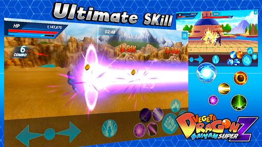 Vegeta Dragon Saiyan Super Z 1.1.0 screenshots 5