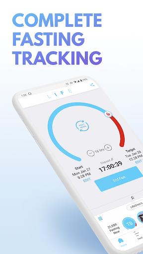 LIFE Fasting Tracker | Social Intermittent Fasting 5.0.3 screenshots 1