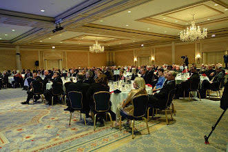 Photo: ...more than 200 guests attended the dinner
