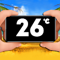 Classic thermometer icon