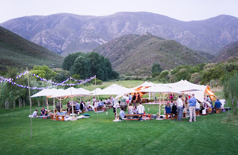 Photo: Gourmet picnic weddings