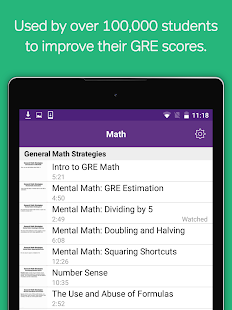 GRE Prep: Verbal, Math Course- screenshot thumbnail