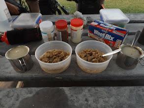 Photo: Punkt 7:30 Uhr: Frühstück ist fertig!