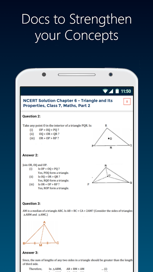Class 7 Science Math English Hindi, NCERT Solution- screenshot