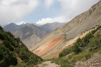 Photo: Kosh-Moynok, track to pass