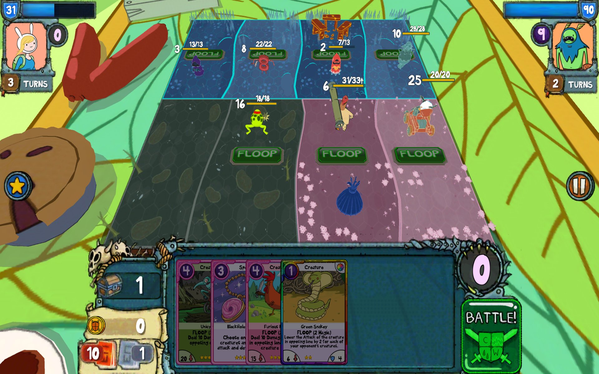 Card Wars - Adventure Time screenshot #10