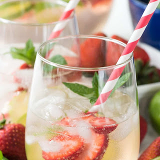 Strawberry Lime Party Punch.