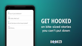 screenshot of HOOKED - Chat Stories