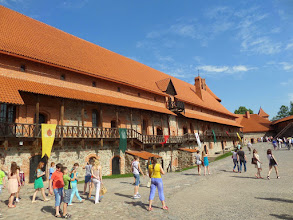 Photo: The outer courtyard was completed just before they won the big Battle of Grunwald fought on July 15, 1410.