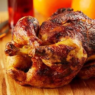 Simple Roasted Whole Chicken.