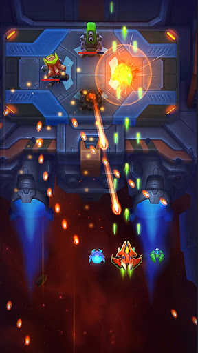 Space Justice: Galaxy Shooter. Shoot 'em up captures d'u00e9cran 2