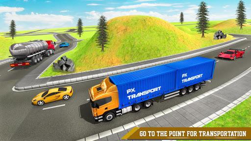 Transport Ship Euro Truck Cargo Transport Games modavailable screenshots 2