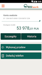 PBSbank24 mobile - náhled