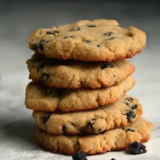 Lemon Blueberry AIP Paleo Cookies