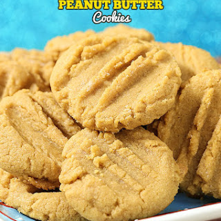 3 Ingredient Peanut Butter Cookies.