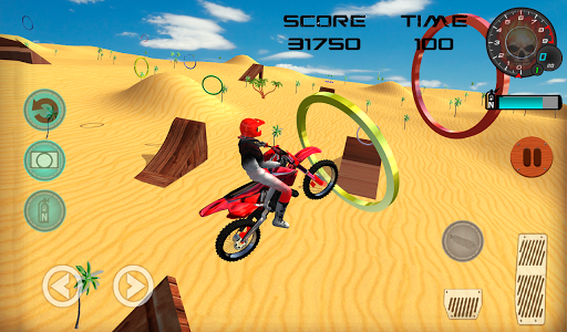 Racing Moto Beach Jumping Games for PC