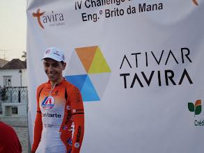 Photo: André Mourato, da LA/Antarte, vencedor da IV Challenge Eng.º Brito da Mana, Tavira