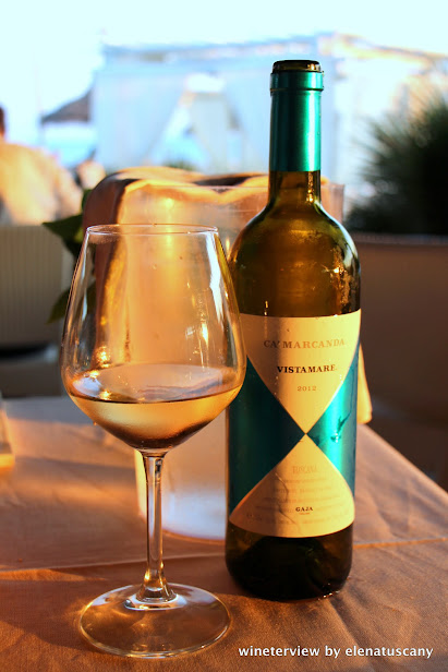 ca' marcanda, gaga, vino, vino bianco, wine, white wine, vista mare