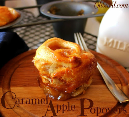 ~Caramel Apple Popovers! Recipe