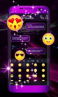 Purple Keyboard Theme 2
