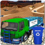 Offroad Garbage Truck Simulator 2018: Trash Driver