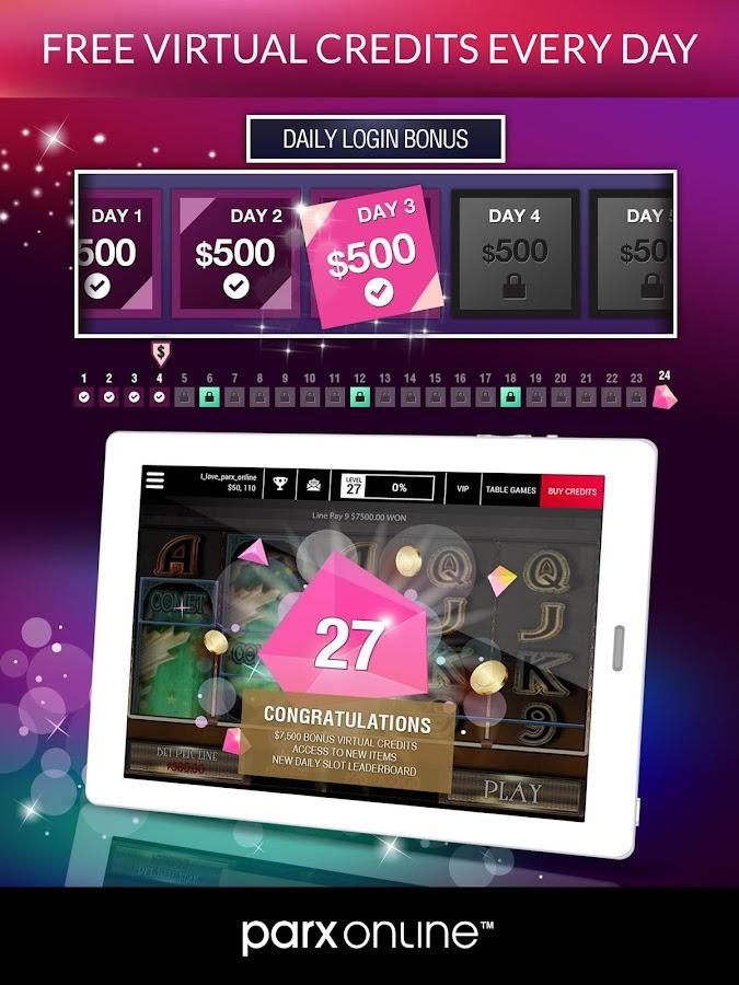 Parx casino age