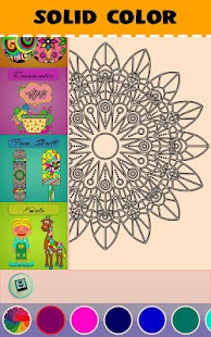 DrawFy: Coloring Book Free Screenshot