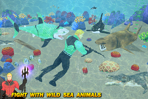 Multi Aqua Shark Hero Vs Sea Animals 1.2 screenshots 1