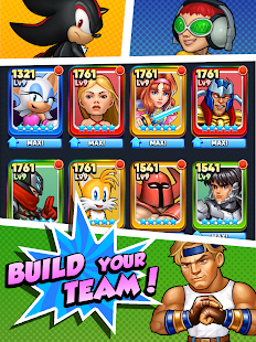 Game SEGA Heroes: Match 3 RPG Game with Sonic & Crew! APK for Windows Phone