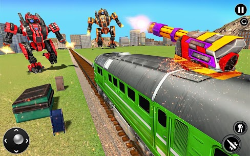 Futuristic Train Transforming Robot Games 1