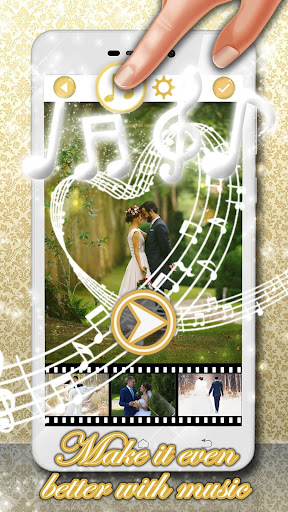 Wedding Video Maker with Music ud83dudc9d 1.4 screenshots 2