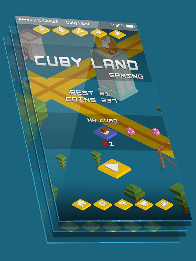 Cuby Land - στιγμιότυπο οθόνης