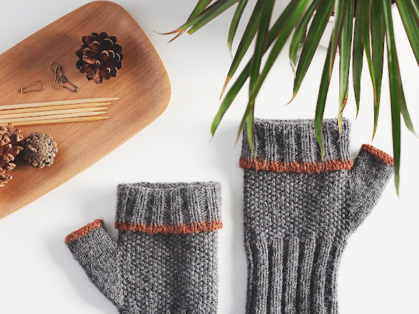 Call for test knitters! The Graine fingerless mitts